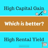 Which is better? High Rental Yield or High Capital Gain