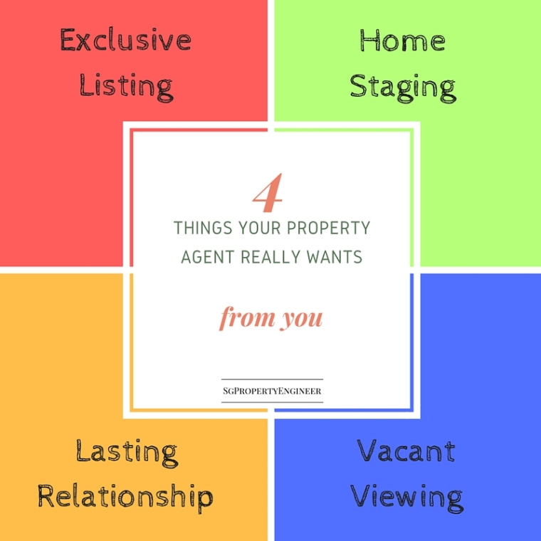4 things your propert agent really wants from you