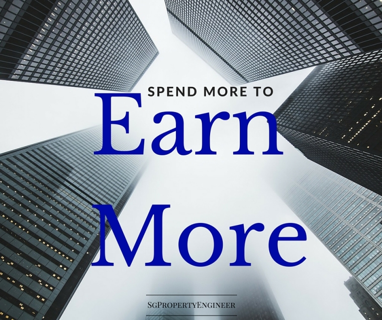 spend more to earn more