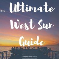 Ultimate West Sun Guide - is there still west sun for unblocked NS facing properties?