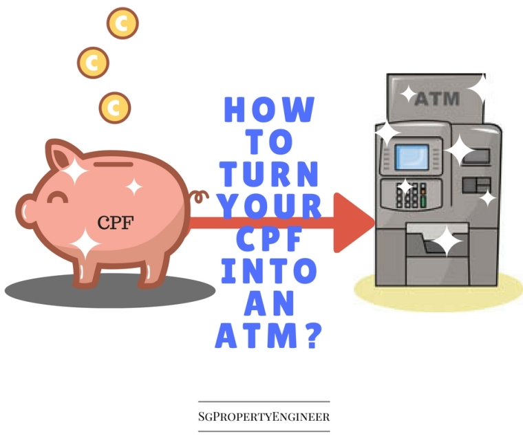 how to turn cpf into atm